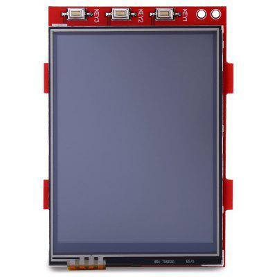Multi - function 320 x 240 16 - bit Color Pixels 3.2 inch TFT LCD Touchscreen Display Module with SPI Interface for Raspberry Pi