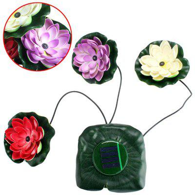 Solar Lotus LED Light