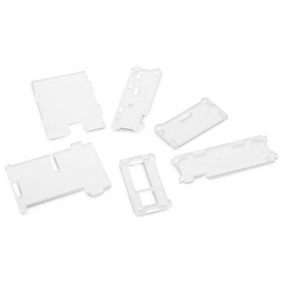 High Quality DIY Acrylic Protective Cover Shell Works with Raspberry Pi B+