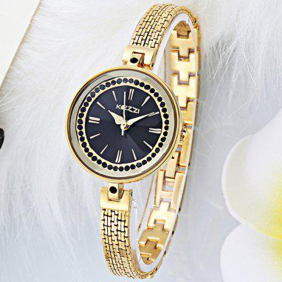 KEZZI KW-1280 Elegant Diamond Japan Quartz Ladies Watch