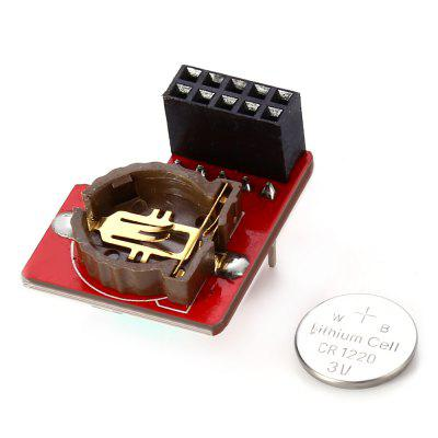 I2C DS1307 Real Time Clock ModuleRaspberry Pi<br>I2C DS1307 Real Time Clock Module<br><br>Mainly Compatible with: Ardunio<br>Package Contents: 1 x I2C DS1307 Real Time Clock Module<br>Package Size(L x W x H): 19.50 x 13.50 x 6.50 cm / 7.68 x 5.31 x 2.56 inches<br>Package weight: 0.026 kg<br>Product Size(L x W x H): 16.50 x 11.00 x 1.00 cm / 6.5 x 4.33 x 0.39 inches<br>Type: Real Time Clock Module