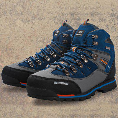 Outdoor Men Water Resistant Trekking ShoesAthletic Shoes<br>Outdoor Men Water Resistant Trekking Shoes<br><br>Closure Type: Lace-Up<br>Features: Anti-slip, Breathable, Durable, Water Resistant<br>Gender: Men<br>Highlights: Warm Keeping, Breathable<br>Package Contents: 1 x A Pair of Trekking Shoes<br>Package size: 33.00 x 24.00 x 12.00 cm / 12.99 x 9.45 x 4.72 inches<br>Package weight: 1.3400 kg<br>Season: Summer, Spring, Autumn, Winter<br>Sole Material: Rubber<br>Upper Height: Middle