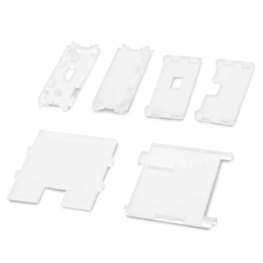 Durable Acrylic Case Protective Enclosure Works with Raspberry Pi Model A+