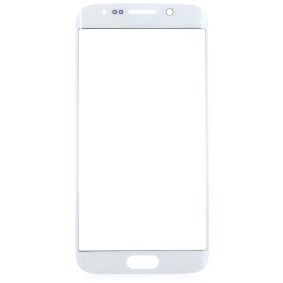 Buy WHITE Outer Glass Lens Cover with Repair Tools for Samsung S6 Edge for $9.05 in GearBest store