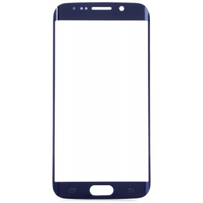 Buy BLUE Outer Glass Lens Cover with Repair Tools for Samsung S6 Edge for $9.05 in GearBest store