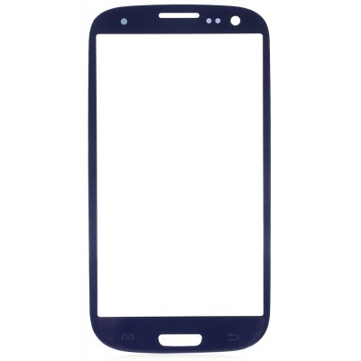 Buy Outer Glass Lens Cover with Repair Tools for Samsung S3 BLUE for $7.28 in GearBest store