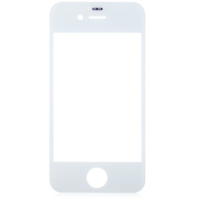 Outer Glass Lens Cover with Repair Tools for iPhone 4 4S