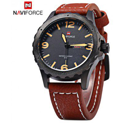 Naviforce 9039 Military Men Quartz Watch Calendar