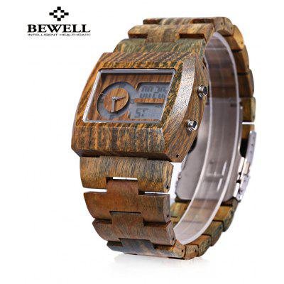 BEWELL ZS-W021A Bamboo Wooden Men Quartz Watch