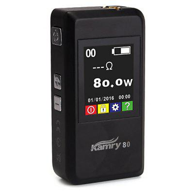 Kamry 80W VW E - Cigarette TFT Color Screen Mod