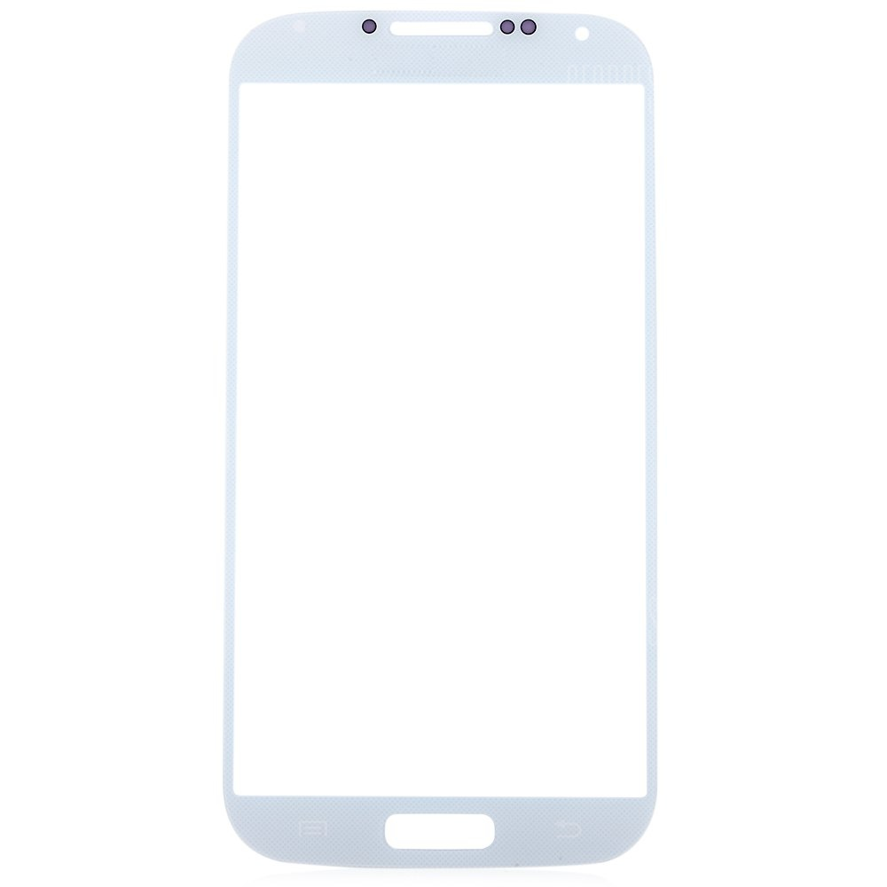 WHITE Outer Glass Lens Cover with Repair Tools for Samsung S4