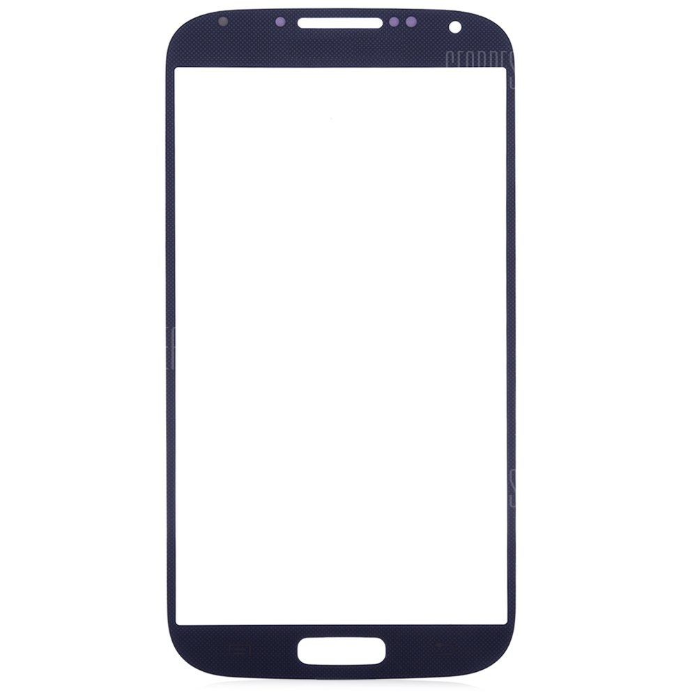 BLUE Outer Glass Lens Cover with Repair Tools for Samsung S4