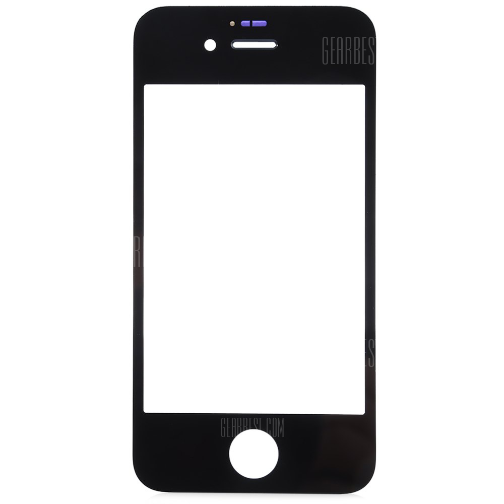 Outer glass lens cover with repair tools for iphone 4 4s free shipping - Reparation telephone lens ...