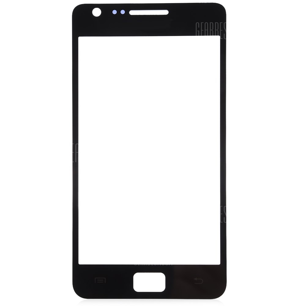 BLACK Outer Glass Lens Cover with Repair Tools for Samsung S2