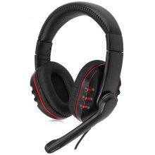 Wired Gaming Headset Headband with Mic for PS4 / PS3 / XBOX 360 Noise Canceling