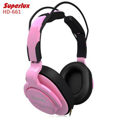 Superlux HD-661 Music Monitor Headphones Noise Canceling
