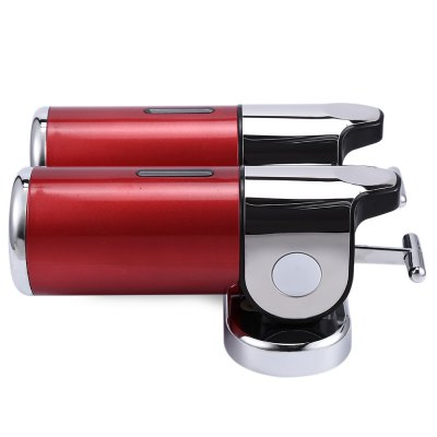 1000ml Stainless Steel Wall Mounted Dual Soap DispenserSponges &amp; Scrubbers<br>1000ml Stainless Steel Wall Mounted Dual Soap Dispenser<br><br>Package Contents: 1 x Double Wall Mounted Soap Dispenser, 2 x Install Fitting Bag<br>Package size (L x W x H): 22.800 x 24.500 x 10.500 cm / 8.976 x 9.646 x 4.134 inches<br>Package weight: 0.798 kg<br>Product size (L x W x H): 24.100 x 21.600 x 10.000 cm / 9.488 x 8.504 x 3.937 inches<br>Product weight: 0.620 kg<br>Type: Soap Dispenser