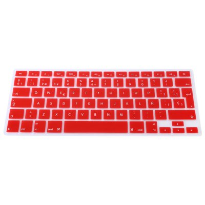 EU Version Spanish Keyboard CoverOther Laptop Accessories<br>EU Version Spanish Keyboard Cover<br><br>Material: Silicone<br>Package Contents: 1 x EU Version Spanish Keyboard Cover<br>Package size (L x W x H): 29.000 x 12.500 x 0.500 cm / 11.417 x 4.921 x 0.197 inches<br>Package weight: 0.047 KG<br>Product size (L x W x H): 28.000 x 11.500 x 0.100 cm / 11.024 x 4.528 x 0.039 inches<br>Product weight: 0.015KG<br>Type: Keyboard Cover