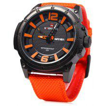 Gearbest Naviforce 9066 Day Date Display Men Quartz Watch