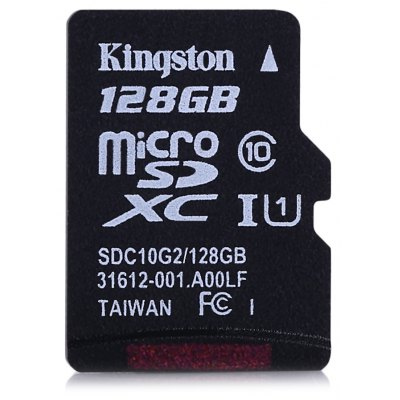 Original Kingston 128GB Clase 10 Micro SDXC UHS-1 Tarjeta de Memoria