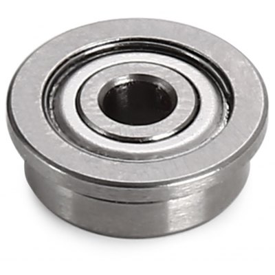 Buy SILVER 4mm 3D Printer Parts F623ZZ Flange Bearing for $1.70 in GearBest store