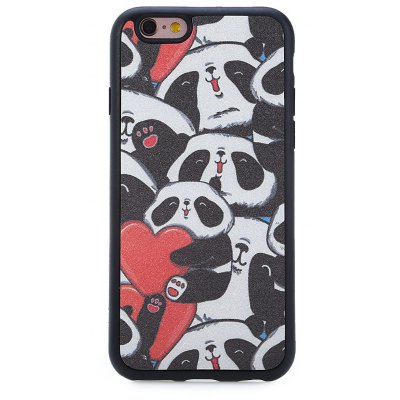 Durable Protective Back Case for iPhone 6 / 6S TPU Material Cartoon Pattern
