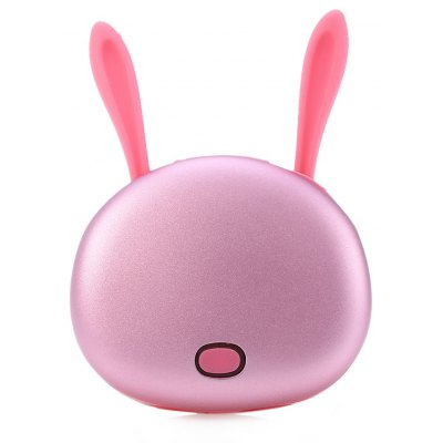 4500mAh Portable Mobile Power Bank Digital Hand Warmer Cartoon Design