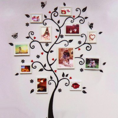 Removable Memory Tree Design Wall Sticker