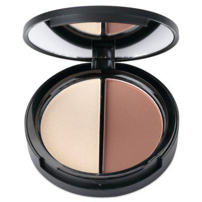 FOCALLURE Duo Bronzer Highlighter 2 ColorsFace Makeup<br>FOCALLURE Duo Bronzer Highlighter 2 Colors<br><br>Brush hair: Others<br>Features: Easy to Carry, Lightweight<br>Functions: Comestic for Party, Dry, Others<br>Package Contents: 1 x Makeup Blemish Cream<br>Package size (L x W x H): 7.90 x 2.00 x 7.90 cm / 3.11 x 0.79 x 3.11 inches<br>Package weight: 0.089 kg<br>Product size (L x W x H): 7.40 x 1.50 x 7.40 cm / 2.91 x 0.59 x 2.91 inches<br>Product weight: 0.059 kg<br>Type: Make-up Brushes