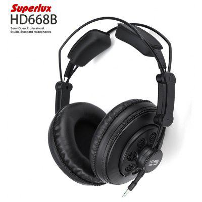 Superlux HD668B Semi-open Professional Studio Standard Headphones