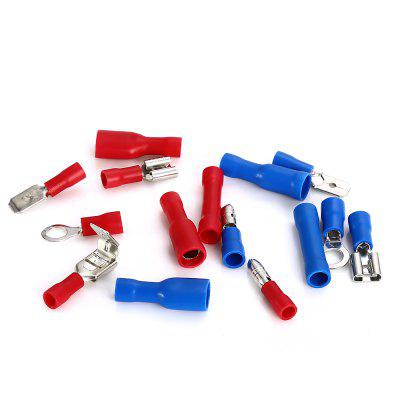 200PCS Electrical Crimp Butt Connector Insulated TerminalsDIY Parts &amp; Components<br>200PCS Electrical Crimp Butt Connector Insulated Terminals<br><br>Material: PVC<br>Package Contents: 200 x Electrical Crimp Butt Connector Insulated Terminal<br>Package Size(L x W x H): 17.30 x 9.80 x 2.20 cm / 6.81 x 3.86 x 0.87 inches<br>Package weight: 0.2200 kg<br>Product weight: 0.2030 kg<br>Type: Electric Components