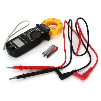 ROBUST DEER RT-D912 500A LCD Digital Clamp MeterMultimeters &amp; Fitting<br>ROBUST DEER RT-D912 500A LCD Digital Clamp Meter<br><br>Brand: ROBUST DEER<br>LCD screen size : 34 x 20mm<br>Max. Display: 1999<br>Model: RT-D912<br>Package Contents: 1 x ROBUST DEER RT-D912 500A Digital Clamp Meter, 2 x Test Lead, 2 x 1.5V AAA Battery, 1 x Chinese Manual<br>Package size (L x W x H): 23.70 x 11.30 x 4.60 cm / 9.33 x 4.45 x 1.81 inches<br>Package weight: 0.308 kg<br>Powered by: 2 x AAA Battery<br>Product size (L x W x H): 17.30 x 5.90 x 3.10 cm / 6.81 x 2.32 x 1.22 inches<br>Product weight: 0.164 kg<br>Type: Digital Clamp Meter