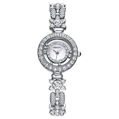 WeiQin W4086 Rolling Bead Female Diamond Quartz Watch