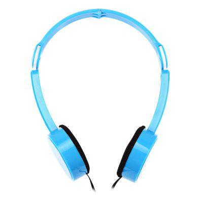 Retractable Foldable Over Ear Headphones for Kids