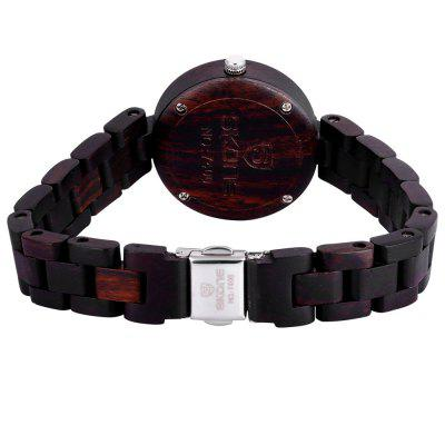 SKONE 7400 Wooden Body Imported Quartz Movement Ladies WatchWomens Watches<br>SKONE 7400 Wooden Body Imported Quartz Movement Ladies Watch<br><br>Available Color: Black,Deep Brown,Light Brown<br>Band material: Wood<br>Brand: Skone<br>Case material: Wood<br>Clasp type: Folding clasp with safety<br>Display type: Analog<br>Movement type: Quartz watch<br>Package Contents: 1 x Female Watch<br>Package size (L x W x H): 25.00 x 3.30 x 2.10 cm / 9.84 x 1.30 x 0.83 inches<br>Package weight: 0.058 kg<br>Product size (L x W x H): 24.00 x 3.20 x 1.10 cm / 9.45 x 1.26 x 0.43 inches<br>Product weight: 0.028 kg<br>Shape of the dial: Round<br>Style: Fashion&amp;Casual<br>The band width: 1.3 cm / 0.51 inches<br>The dial diameter: 3.2 cm / 1.26 inches<br>The dial thickness: 1.1 cm / 0.43 inches<br>Watches categories: Female table