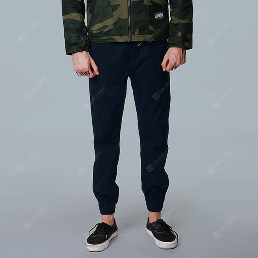 VALKOMM Male Ankle Banded Ninth Pants for Jogging