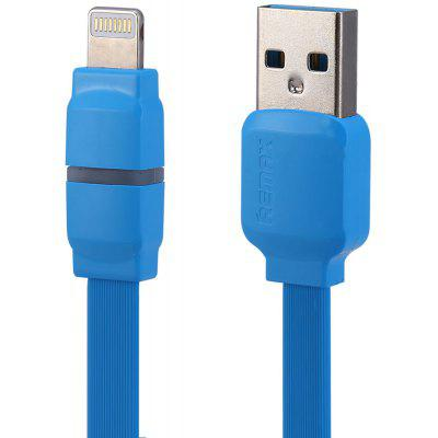REMAX 8Pin Charging Data Sync Cable with Indicator Light 1m