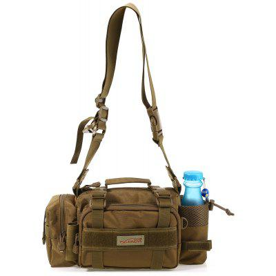 Multifunction Outdoor Sport Messenger Bag Lure Waist Pack Fishing Tackle Handbag