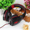 KOTION EACH G4000 Wired Stereo Noise Isolating Headphones - RED