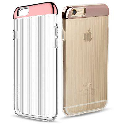 MOSHUO Protective TPU PC Back Cover Case for iPhone 6 / 6S