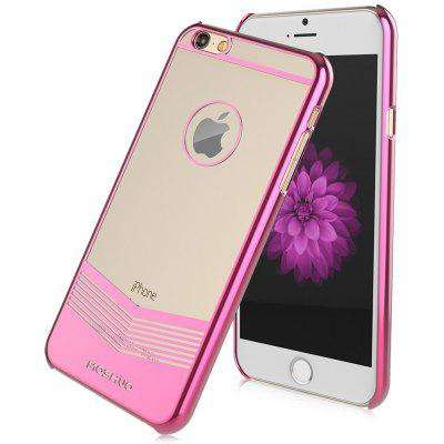 MOSHUO Protective TPU Back Cover Case for iPhone 6 / 6S Electroplated Frame