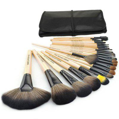 Portable 24Pcs Make-up Brush Kit