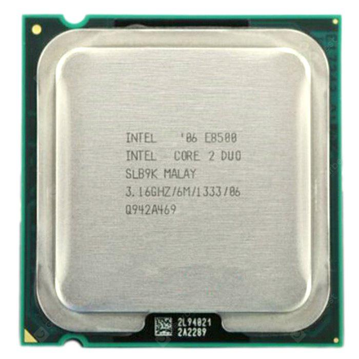 Intel Core 2 Duo E8500 Processeur Central