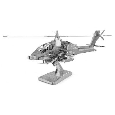 Apache Helicopter Metal 3D Puzzle  –  SILVER 2018 Best Review and Coupon Code
