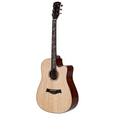 Enya ED220 41 inch Acoustic Folk Guitar with Cotton Bag