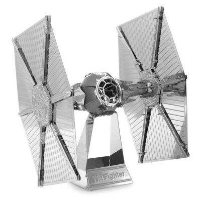 Tie Fighter Warplane Metal 3D Puzzle