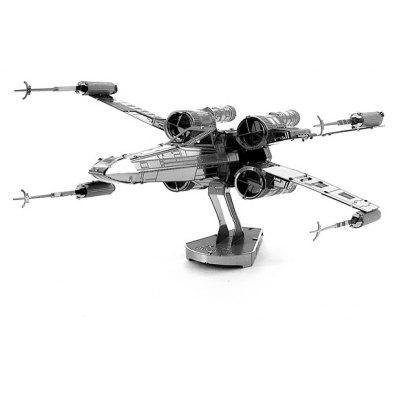 Gearbest X-wing Warplane Metal 3D Puzzle