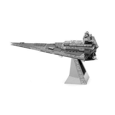 Imperial Star DestroyerModel &amp; Building Toys<br>Imperial Star Destroyer<br><br>Gender: Unisex<br>Materials: Metal<br>Package Contents: 1 x 3D Puzzle Set, 1 x English Manual<br>Package size: 17.00 x 11.00 x 0.20 cm / 6.69 x 4.33 x 0.08 inches<br>Package weight: 0.0790 kg<br>Stem From: Europe and America<br>Style: Figure Statue<br>Theme: Fantasy and Sci-fi,Movie and TV<br>Type: 3D Puzzle