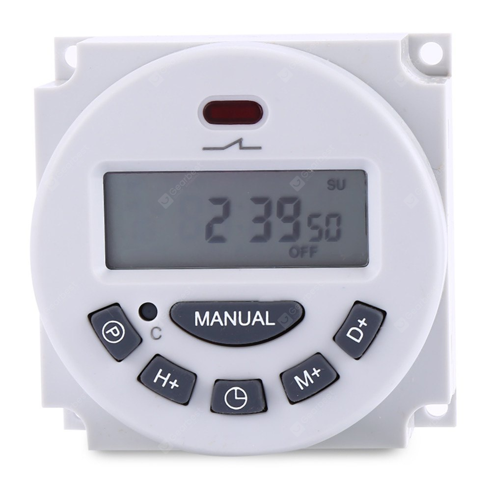 L701 LCD Digital Programmable Control Power Timer Switch
