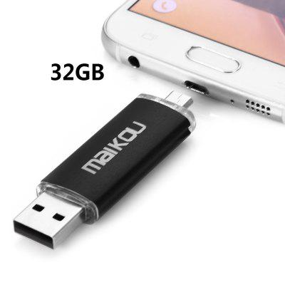 Maikou MK-760 2 in 1 32GB OTG USB 2.0 Flash Drive